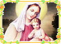 Mother Mary with Baby Jesus (Christmas) 1