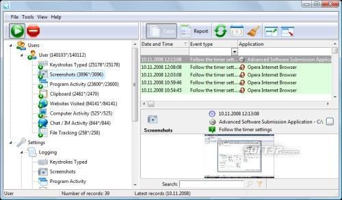 REFOG Keylogger Screenshot 2