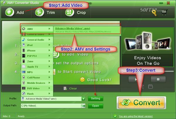 AMV Converter Studio Screenshot 2