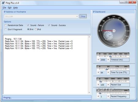 Ping Plus Screenshot 2