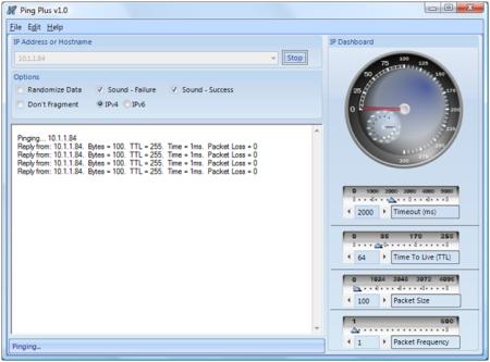 Ping Plus Screenshot