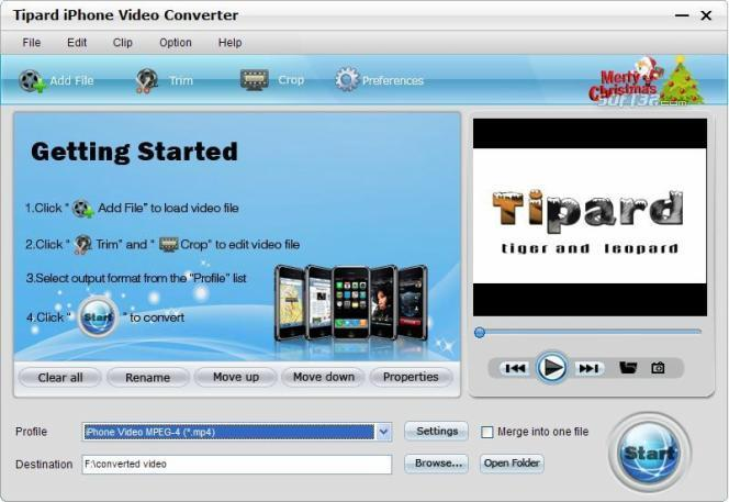 Tipard iPhone Video Converter Screenshot 2