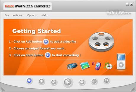 Raize iPod Video Converter Screenshot 1