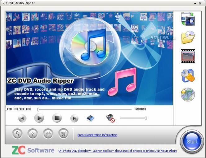 ZC DVD Audio Ripper Screenshot 1