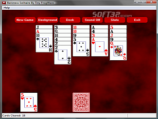 Baroness Solitaire Screenshot