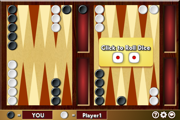 Multiplayer Backgammon Screenshot 1