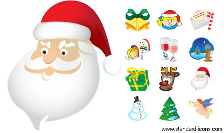 Standard Christmas Icons Screenshot 1