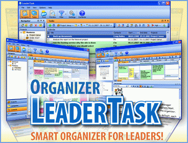 LeaderTask Company Management Screenshot