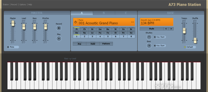 A73 Piano Station Screenshot 3