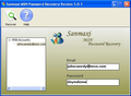 MSN Messenger Password Recovery Program 1