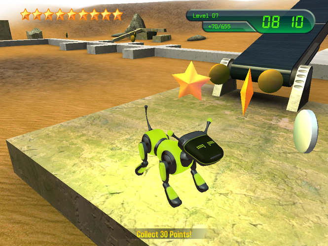 Electro the Robotic Puppy Screenshot