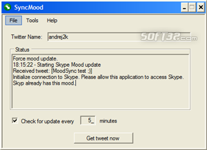 SyncMood Screenshot