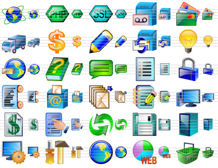 Standard Admin Icons Screenshot 1