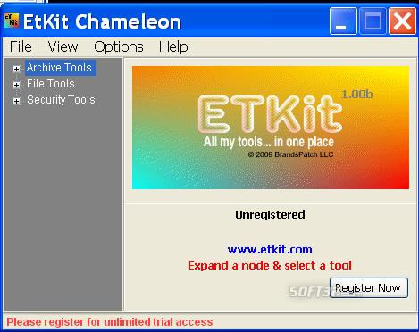 ETKit Chameleon Screenshot