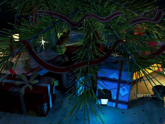 Merry Christmas 3D Screensaver Screenshot 1