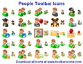 People Toolbar Icons 1