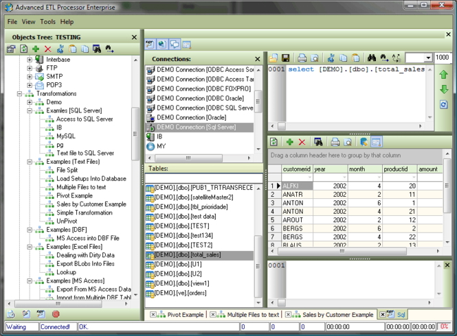 Advanced ETL Processor Enterprise Screenshot