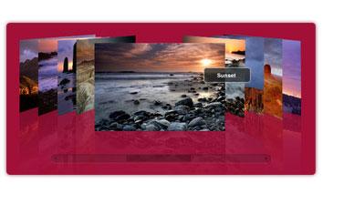 Photo Flow Gallery SWF XML Screenshot 1