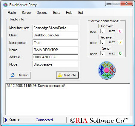 BlueMarket Party Screenshot 1