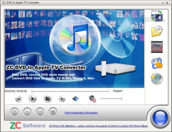 ZC DVD to Apple TV Converter Screenshot 1