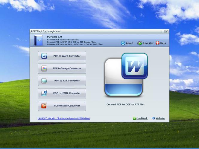 PDFZilla Screenshot 1