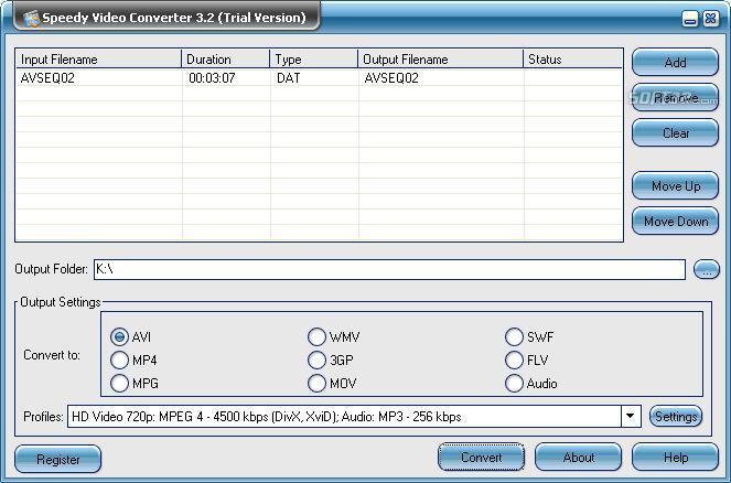 Speedy Video Converter Screenshot 3
