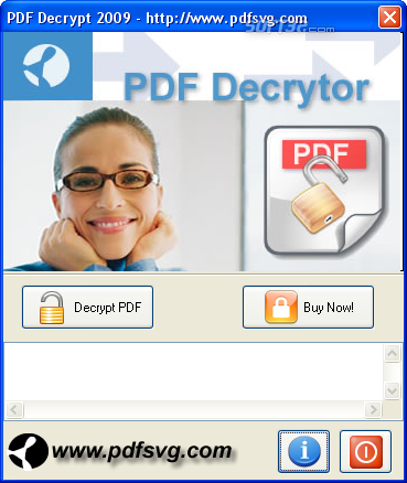 PDF Decrypt Screenshot 2