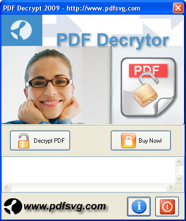PDF Decrypt Screenshot 1