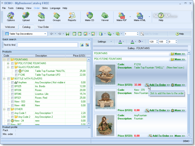 MyBusinessCatalog Platinum Professional License Screenshot 2