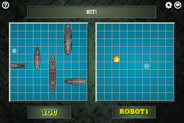 Multiplayer Battleship Screenshot