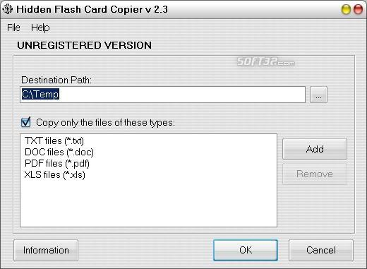 Hidden Flash Card Copier Screenshot 3