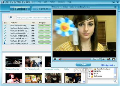 Video Download Capture Screenshot 3