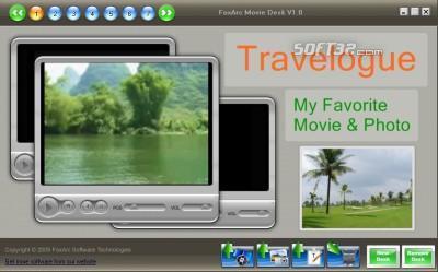 FoxArc Movie Desk Screenshot 3