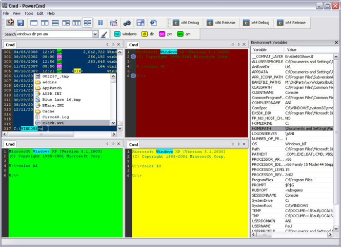 PowerCmd Screenshot 1