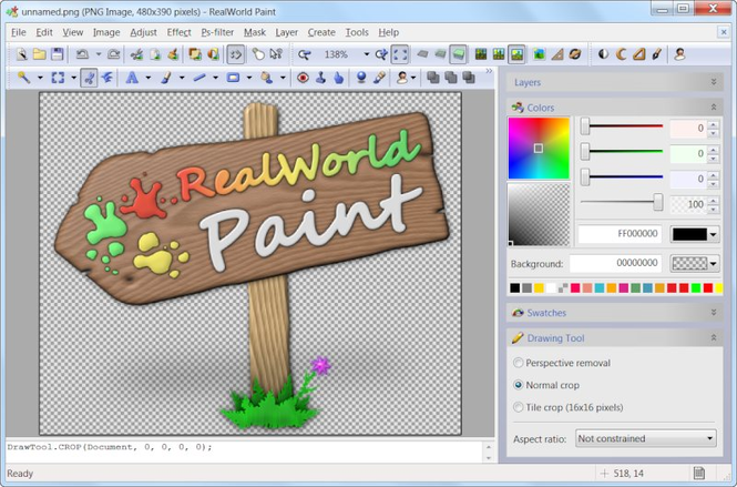 RealWorld Paint Screenshot