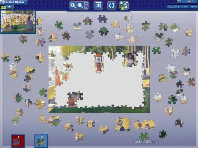 Supreme Jigsaw Screenshot