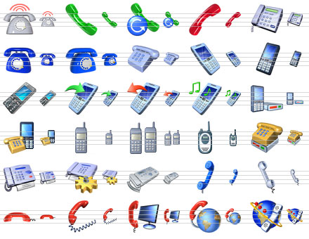 Small Phone Icons Screenshot 1