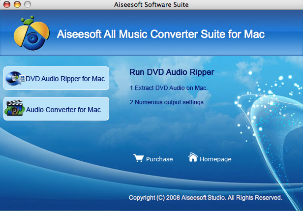 Aiseesoft Mac All Music Converter Suite Screenshot 1