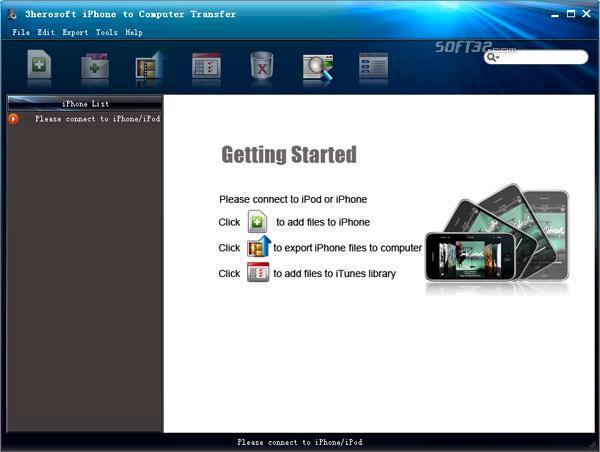 3herosoft iPhone to Computer Transfer Screenshot 3
