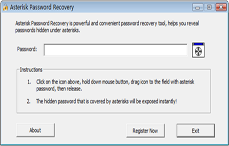 Asterisk Password Recovery Screenshot