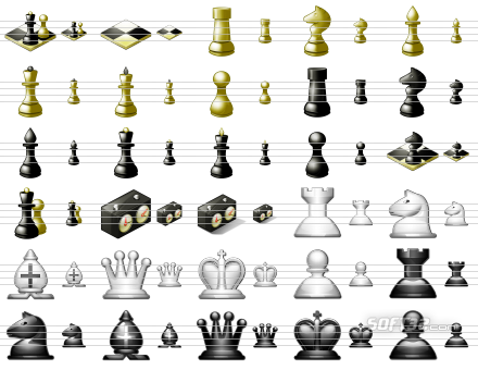 Standard Chess Icons Screenshot 2
