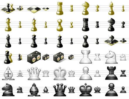 Standard Chess Icons Screenshot 1