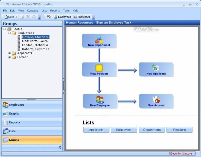 Workforce HRM Screenshot 2