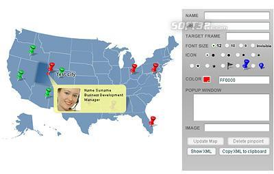 Pinpoint Locator Map of USA Screenshot 3