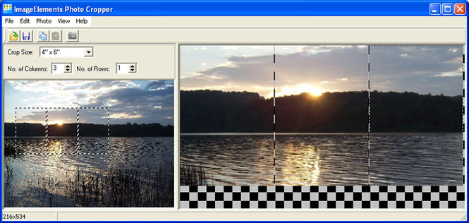 ImageElements Photo Cropper Screenshot 1