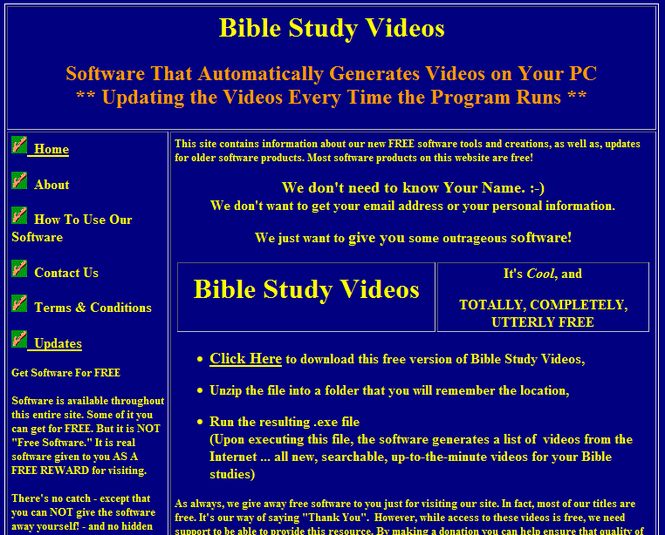 BibleStudy1 Screenshot 1