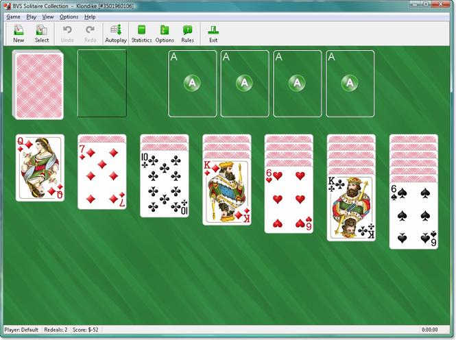 Klondike Solitaire Screenshot