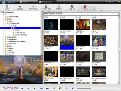 MovieShop Browser Screenshot 3