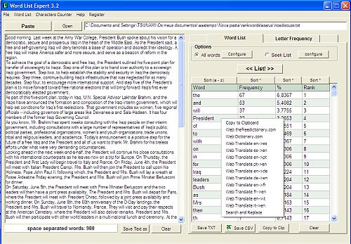 Word List Expert Screenshot 1