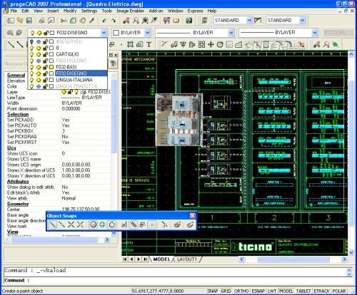 progeCAD Professional 2009 DWG CAD Screenshot 2
